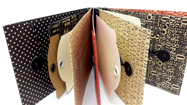 Washi Binding Mini Album, Staples, by Einat Kessler, Product by Graphic 45 photo 1