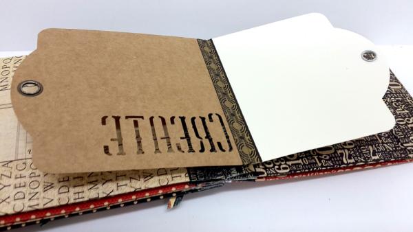 Washi Binding Mini Album, Staples, by Einat Kessler, Product by Graphic 45 photo 1