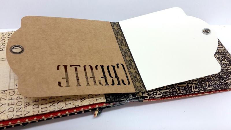 Washi Binding Mini Album, Staples, by Einat Kessler, Product by Graphic 45 photo 3