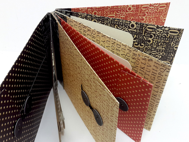 Washi Binding Mini Album, Staples, by Einat Kessler, Product by Graphic 45 photo 2