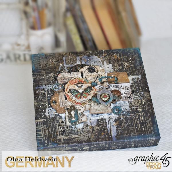 July assigments Steampunk Buterfly Box  Olga Heldwein1