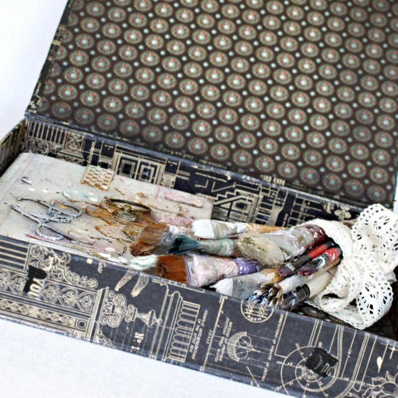July assigments Steampunk Buterfly Box  Olga Heldwein6