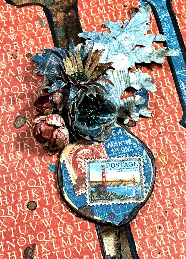 Create Mixed Media Home Decor, DIY Quotes and Newsprint, City Scapes, by Kathy Clement, Product by Graphic 45 Photo 14