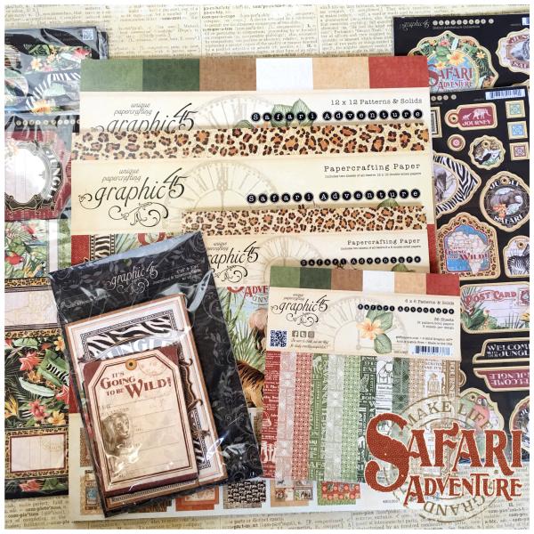 (2) Safari Adventure Full Collection Prize Pack