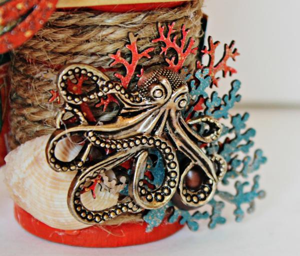 Graphic 45 The Sea is Calling Me Mini Album - Tutorial - Pam Bray 6_0634