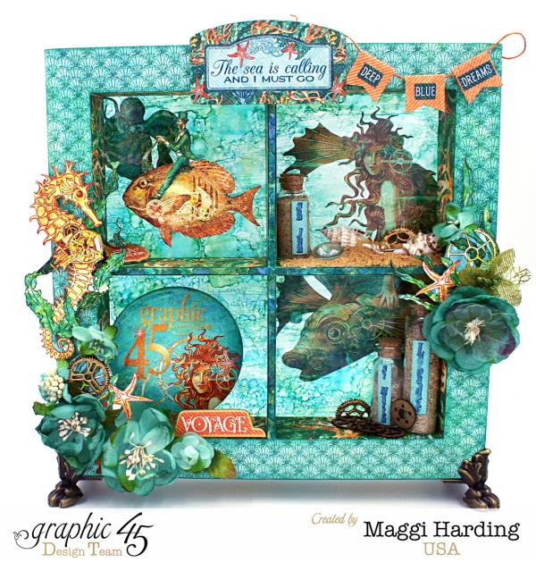 Shadowbox, Voyage Beneath the Sea, Maggi Harding, Graphic 45 (1)