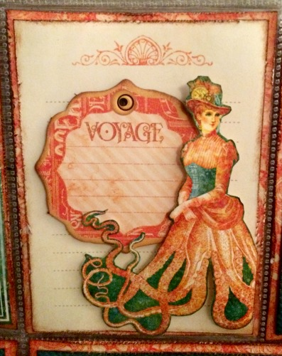 Hawaii Pocket Page, Voyage Beneath the Sea, Pocket Scrapbook Page, By Katelyn Grosart, Products By Graphic 45 - 2