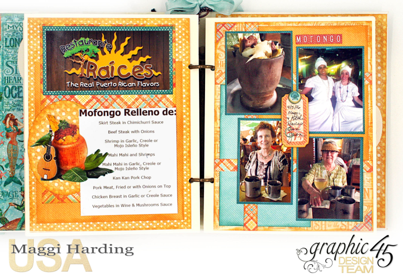 Mini, Voyage Beneath the Sea, cover tutorial, Maggi Harding, Graphic 45 (19)