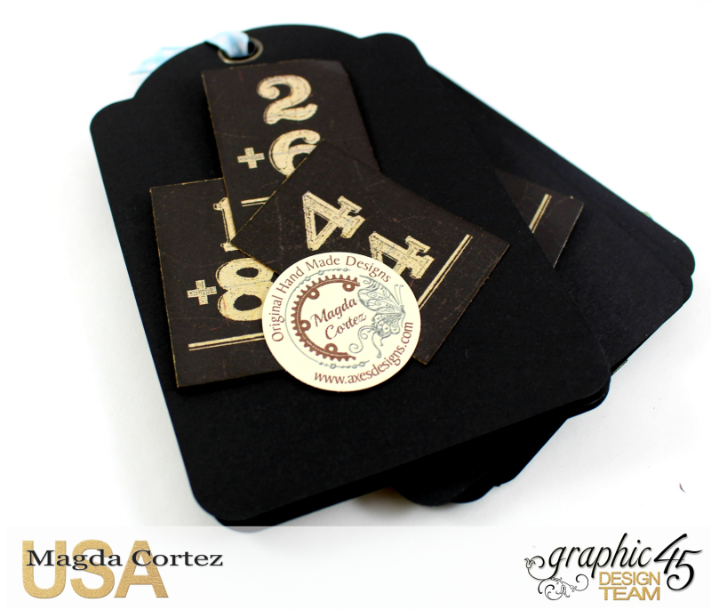 School Days Backpack Mini Album-An ABC Primer-By Magda Cortez-Product by Graphic45-10-11