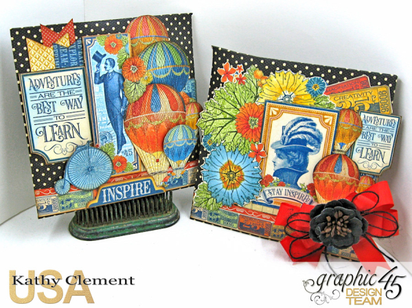 Teacher Appreciation Gift Tutorial, World's Fair, Policy Envelopes by Kathy Clement, Product by Graphic 45 Photo 3