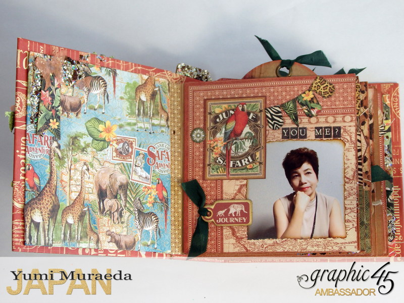 ILoveMeBookandToteBagGraphic45 Safari Adventure  by Yumi Muraeada Product by Graphic 45 1a