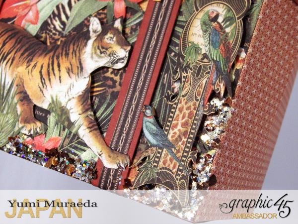 ILoveMeBookandToteBagGraphic45 Safari Adventure  by Yumi Muraeada Product by Graphic 45 12a