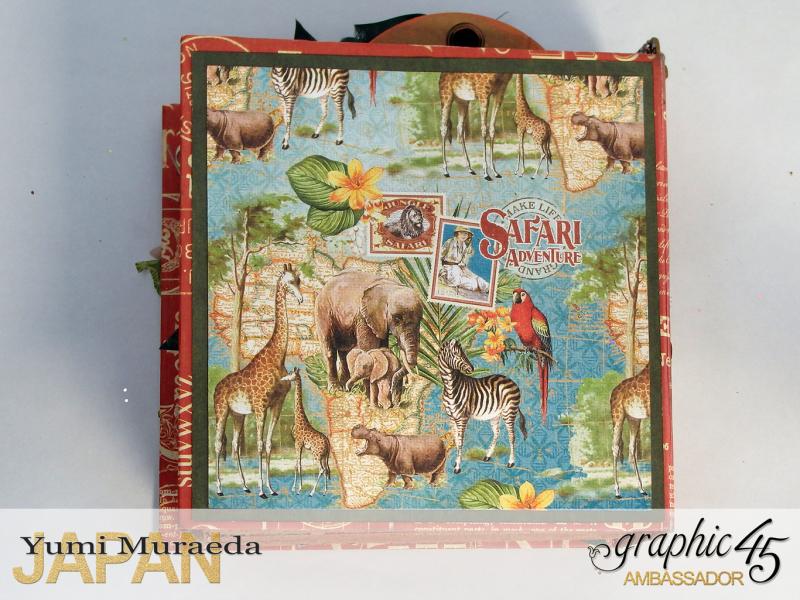 ILoveMeBookandToteBagGraphic45 Safari Adventure  by Yumi Muraeada Product by Graphic 45 Photo10
