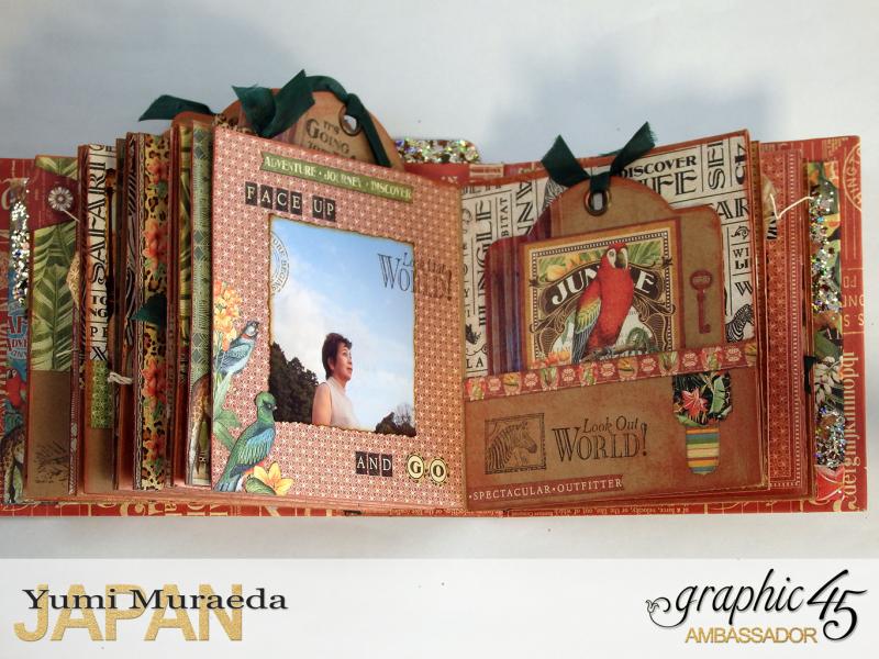 ILoveMeBookandToteBagGraphic45 Safari Adventure  by Yumi Muraeada Product by Graphic 45 Photo14a
