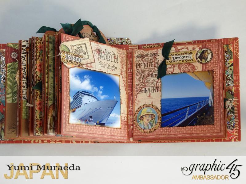 ILoveMeBookandToteBagGraphic45 Safari Adventure  by Yumi Muraeada Product by Graphic 45 Photo16a