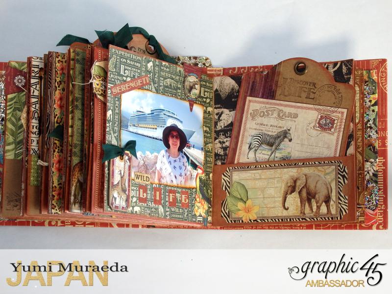 ILoveMeBookandToteBagGraphic45 Safari Adventure  by Yumi Muraeada Product by Graphic 45 Photo17a3