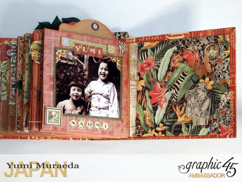 ILoveMeBookandToteBagGraphic45 Safari Adventure  by Yumi Muraeada Product by Graphic 45 Photo19a