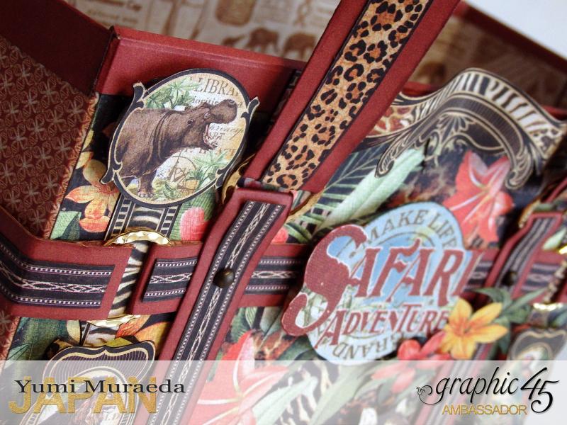 ILoveMeBookandToteBagGraphic45 Safari Adventure  by Yumi Muraeada Product by Graphic 45 Photo4