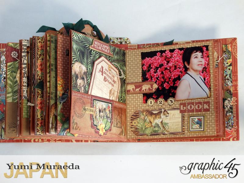 ILoveMeBookandToteBagGraphic45 Safari Adventure  by Yumi Muraeada Product by Graphic 45 Photo15a