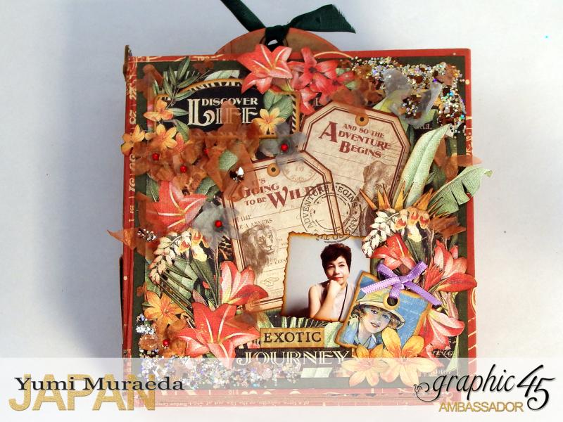 ILoveMeBookandToteBagGraphic45 Safari Adventure  by Yumi Muraeada Product by Graphic 45 Photo9