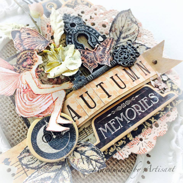 Graphic 45 Autumn Shabby Frame by Aneta Matuszewska, photo 3