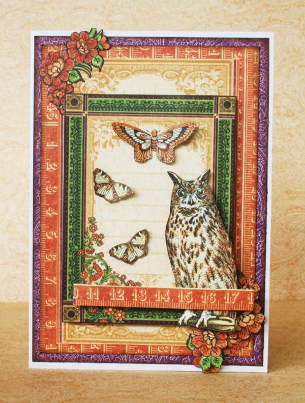 Rare Oddities card by Romy Veul #graphic45