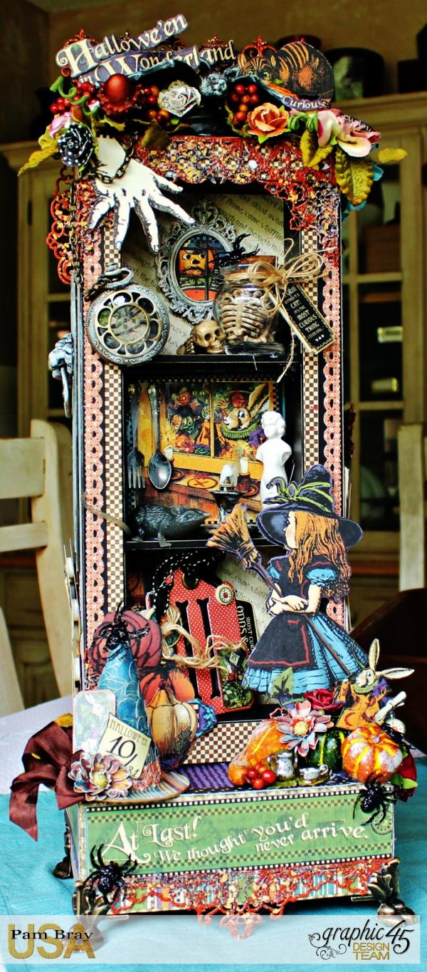 Graphic 45 - Halloween in Wonderland -Tutorial - Pam Bray 1__1030