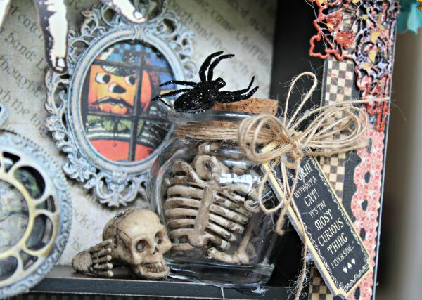 Graphic 45 - Halloween in Wonderland -Tutorial - Pam Bray 6_1005