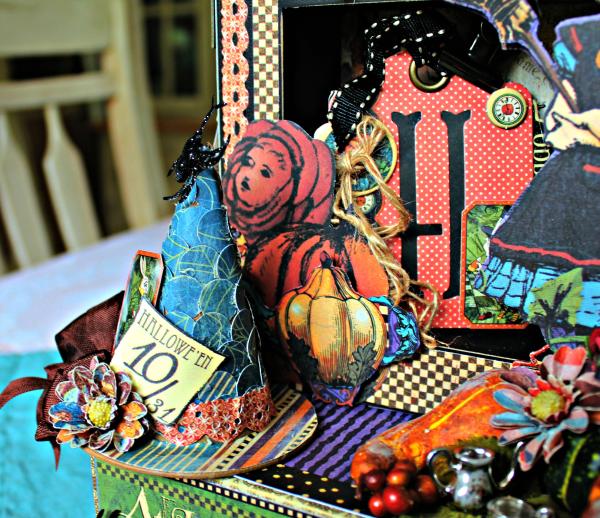 Graphic 45 - Halloween in Wonderland -Tutorial - Pam Bray 10_1020