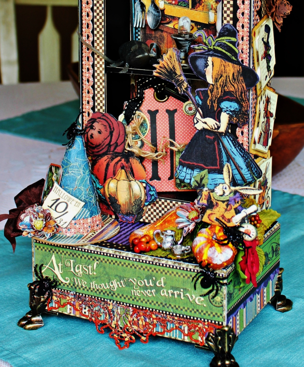Graphic 45 - Halloween in Wonderland -Tutorial - Pam Bray 13__1037