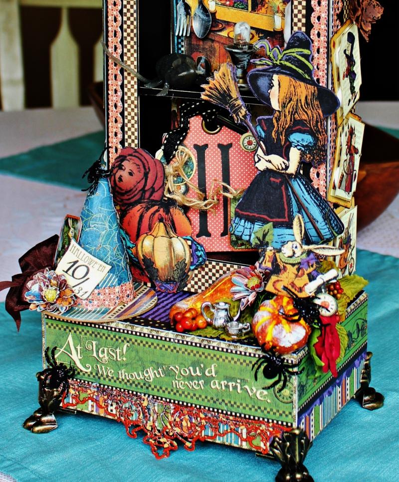 Graphic 45 - Halloween in Wonderland -Tutorial - Pam Bray 13__1037