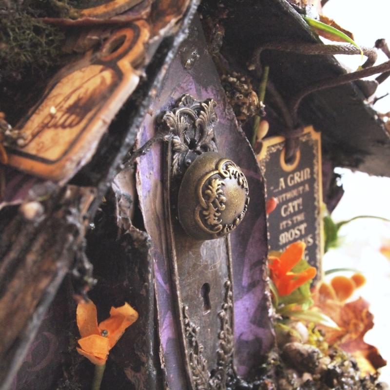 Olga september house of boxes haloween in wonderland (4)