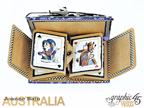 Book-Box,-Halloween-In-Wonderland,-Tutorial-By-Joanne-Bain,-Product-by-Graphic-45,-Photo-1