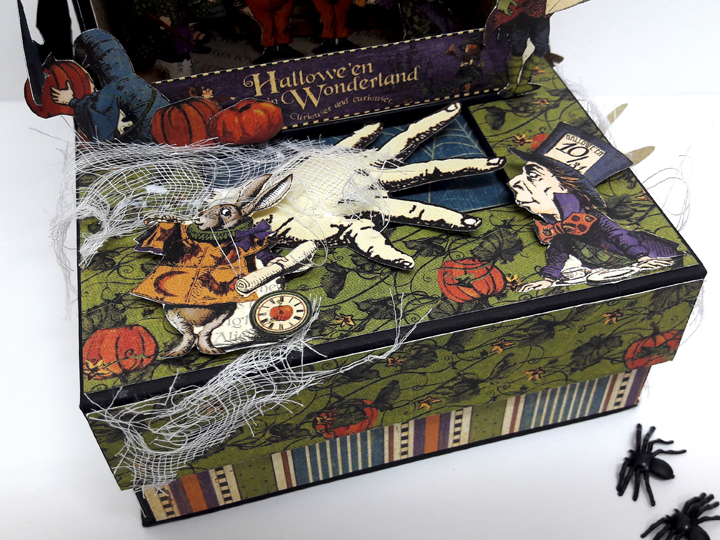 Halloween Spooky House, Halloween in Wonderland, by Einat Kessler, product by Graphic 45 photo 7