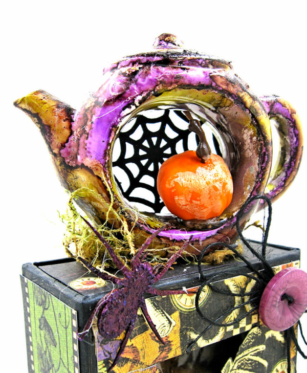 Halloween Tea with Alice, Halloween in Wonderland, by Kathy Clement, Product by Graphic 45, Photo 14