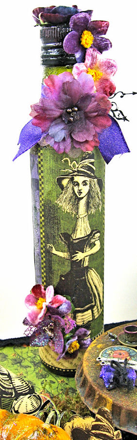 Halloween Tea with Alice, Halloween in Wonderland, by Kathy Clement, Product by Graphic 45, Photo 8