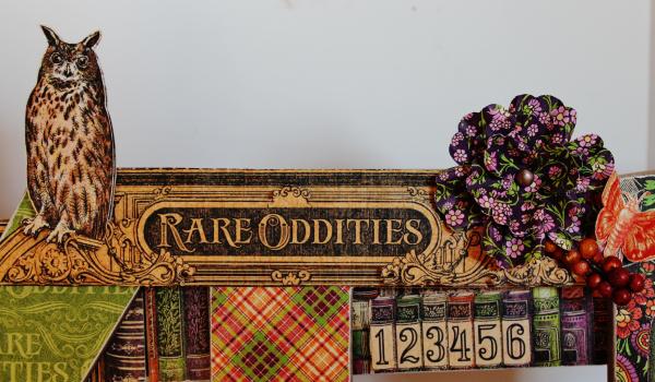Graphic 45 Wicked Sign - Pam Bray - Rare Oddities - Photo 11_1376