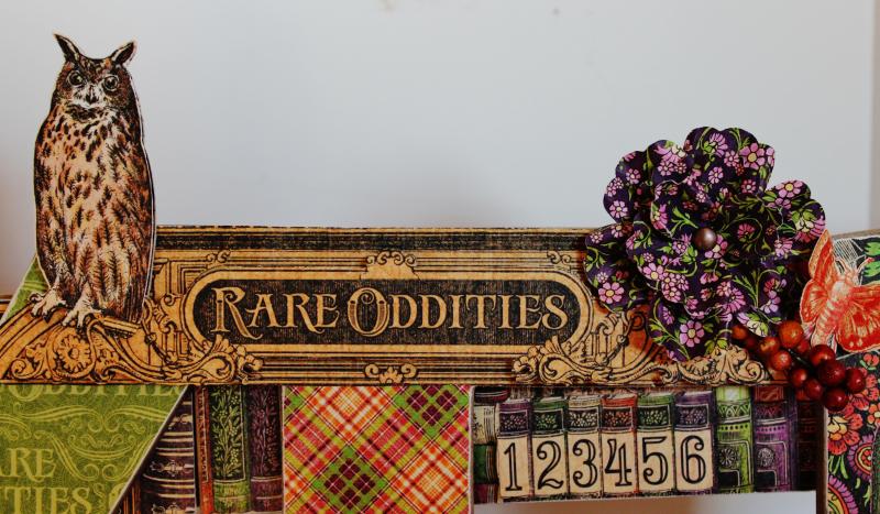 Graphic 45 Wicked Sign - Pam Bray - Rare Oddities - Photo 10_1374