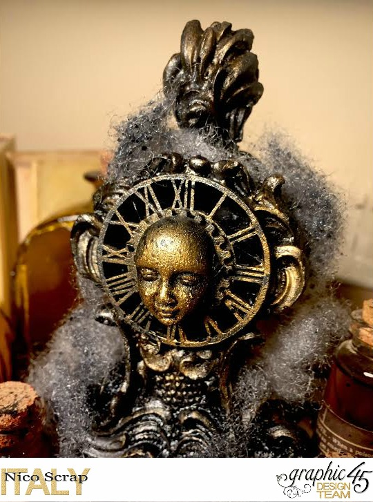 Poison Boxes, steampunk debutante collection, project by Nico Scrap, Product by Graphic 45, Photo 4