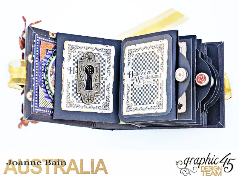 Mini-Tag-Album,-Halloween-In-Wonderland,-By-Joanne-Bain,-Product-by-Graphic-45,-Photo-7