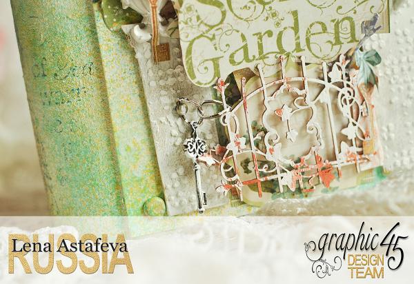 Pop-ap album-Secret Garden-by Lena Astafeva-Product by Graphic 45 -12