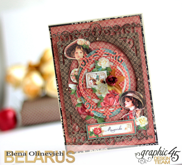 Inspiration _Cards, Off the Races, by Elena Olinevich, product by Graphic45, Photo6