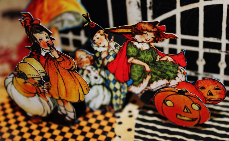 Graphic 45 Happy Haunting Pop Up Card and Box Tutorial - Pam Bray - Photo 17_1492