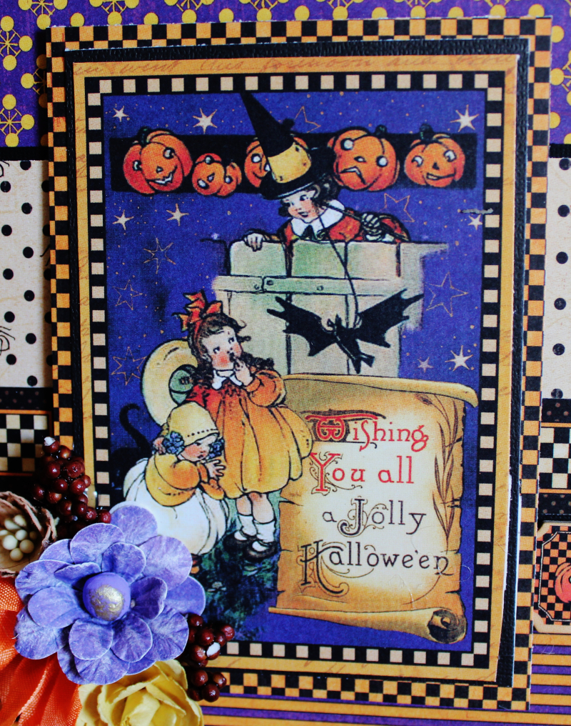 Graphic 45 Happy Haunting Pop Up Card and Box Tutorial - Pam Bray - Photo 13_1471