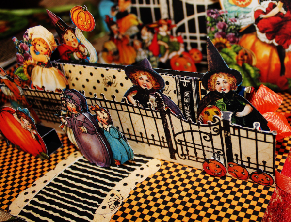 Graphic 45 Happy Haunting Pop Up Card and Box Tutorial - Pam Bray - Photo 14_1483