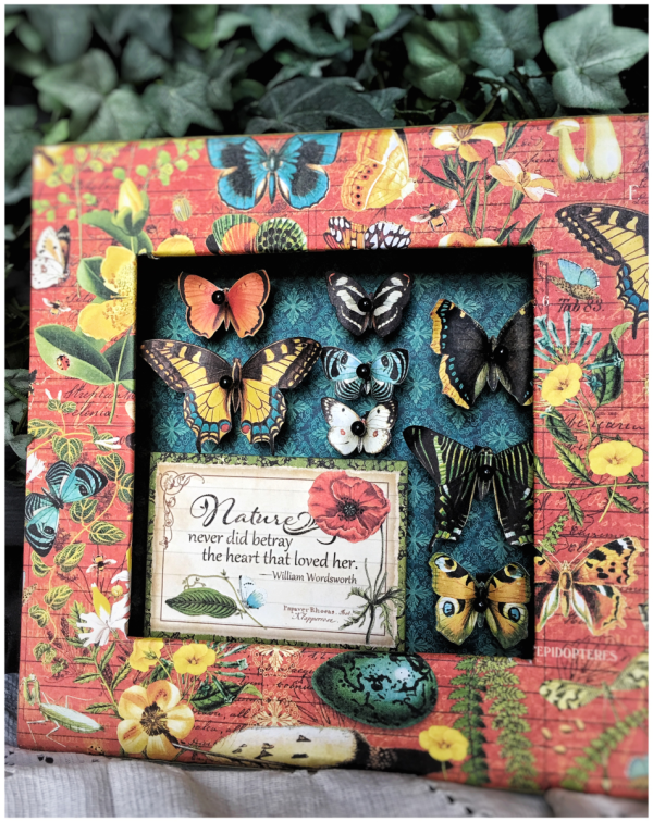Ideas from Diane Schultz's workshop using Nature Sketchbook