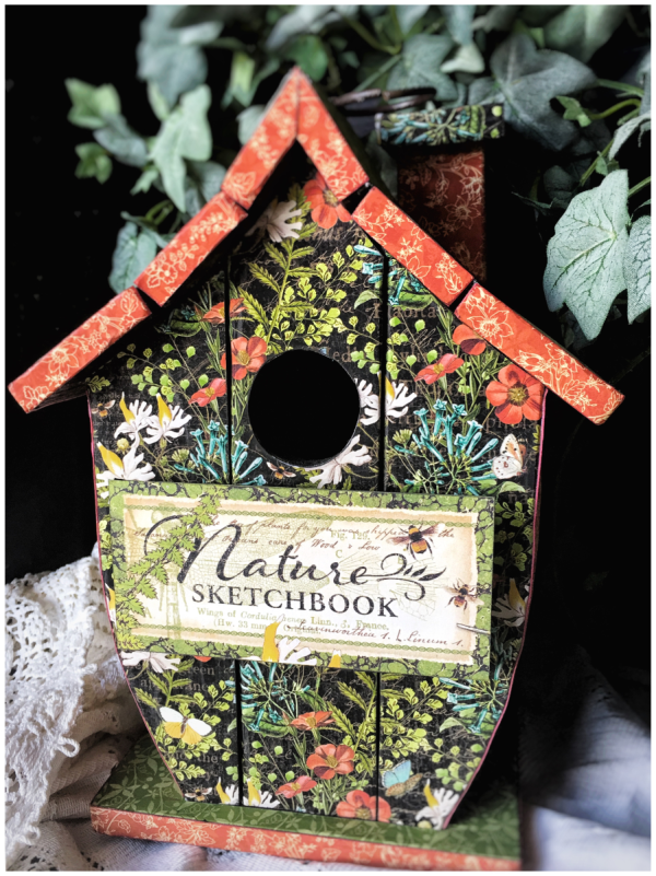 Ideas for Nature Sketchbook from Diane's workshop