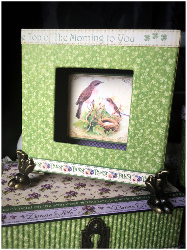 March ideas from Diane Schultz's workshop using Place in Time