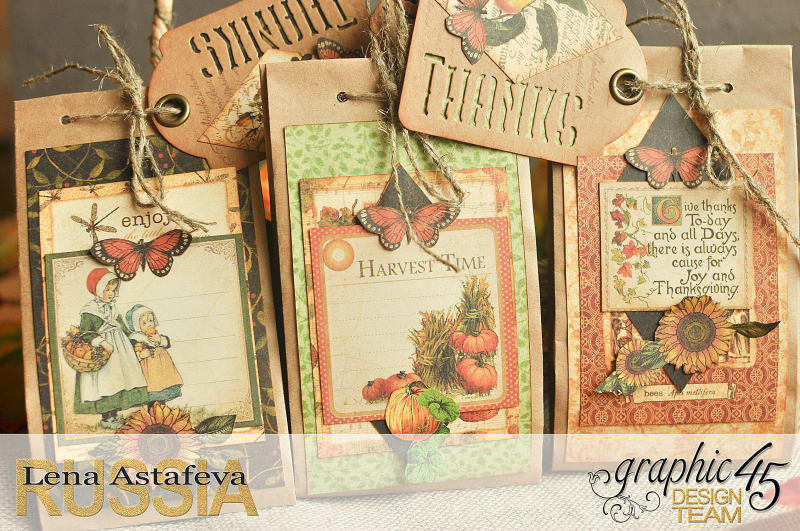 Thanksgiving decor-Botanicabella-Tutorial by Lena Astafeva-Product by Graphic 45-66
