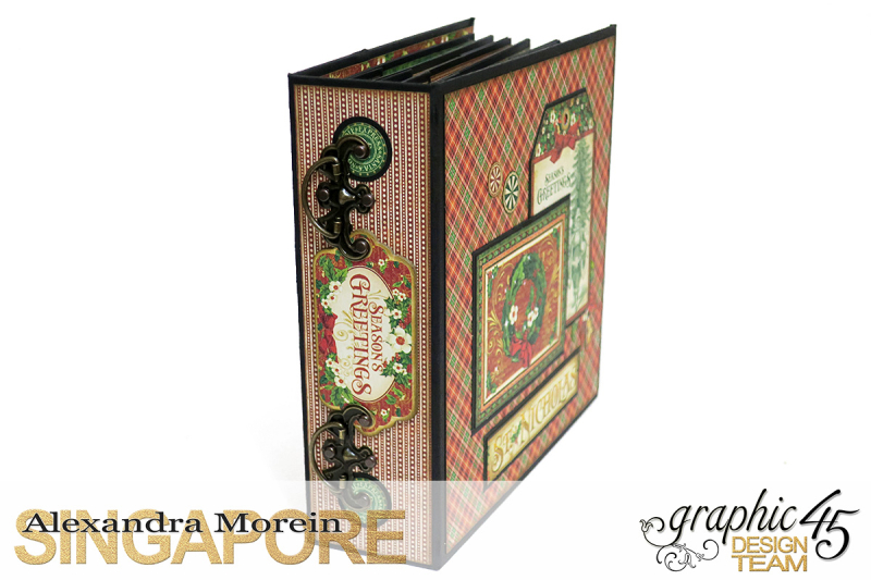 St.Nicholas Candy Stand,Project by Alexandra Morein, Product by Graphic 45, Photo 10